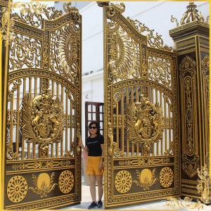 Công trình cổng nhôm đúc Buckingham tại Long Bình Biên Hòa Đồng Nai