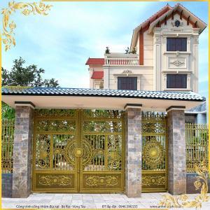 Công trình cổng nhôm đúc Bà Rịa Vũng Tàu