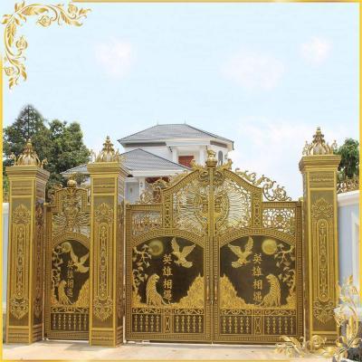 Công trình cổng nhôm đúc nhà anh Lâm Trảng Bom Đồng Nai