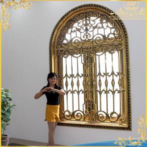 Khung cửa sổ nhôm đúc