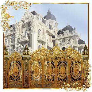 Cổng nhôm đúc mẫu cung điện