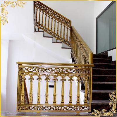 Công trình cầu thang nhôm đúc tại Long Thành