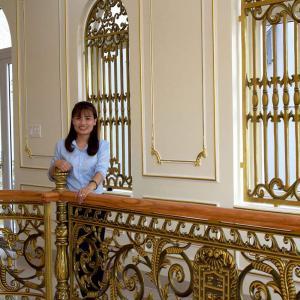 Công trình nhôm đúc nhà Biệt Thự Anh Chung Trảng Dài Biên Hòa