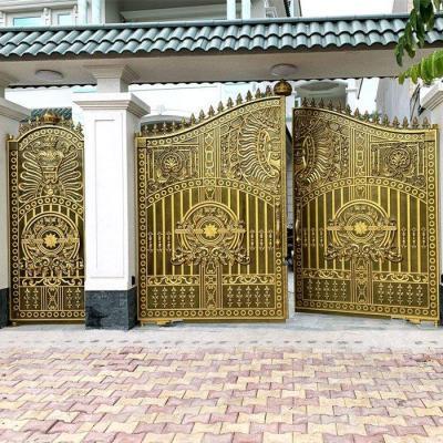 Công trình cổng nhôm đúc nhà Cô Hương - Bình Dương