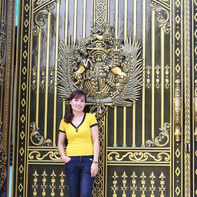 Công trình cổng nhôm đúc phù điêu Buckingham Trảng Dài Biên Hòa