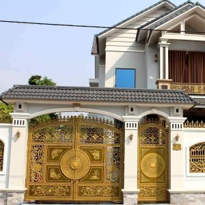 Công trình cổng nhôm đúc tại Phước An Nhơn Trạch Đồng Nai
