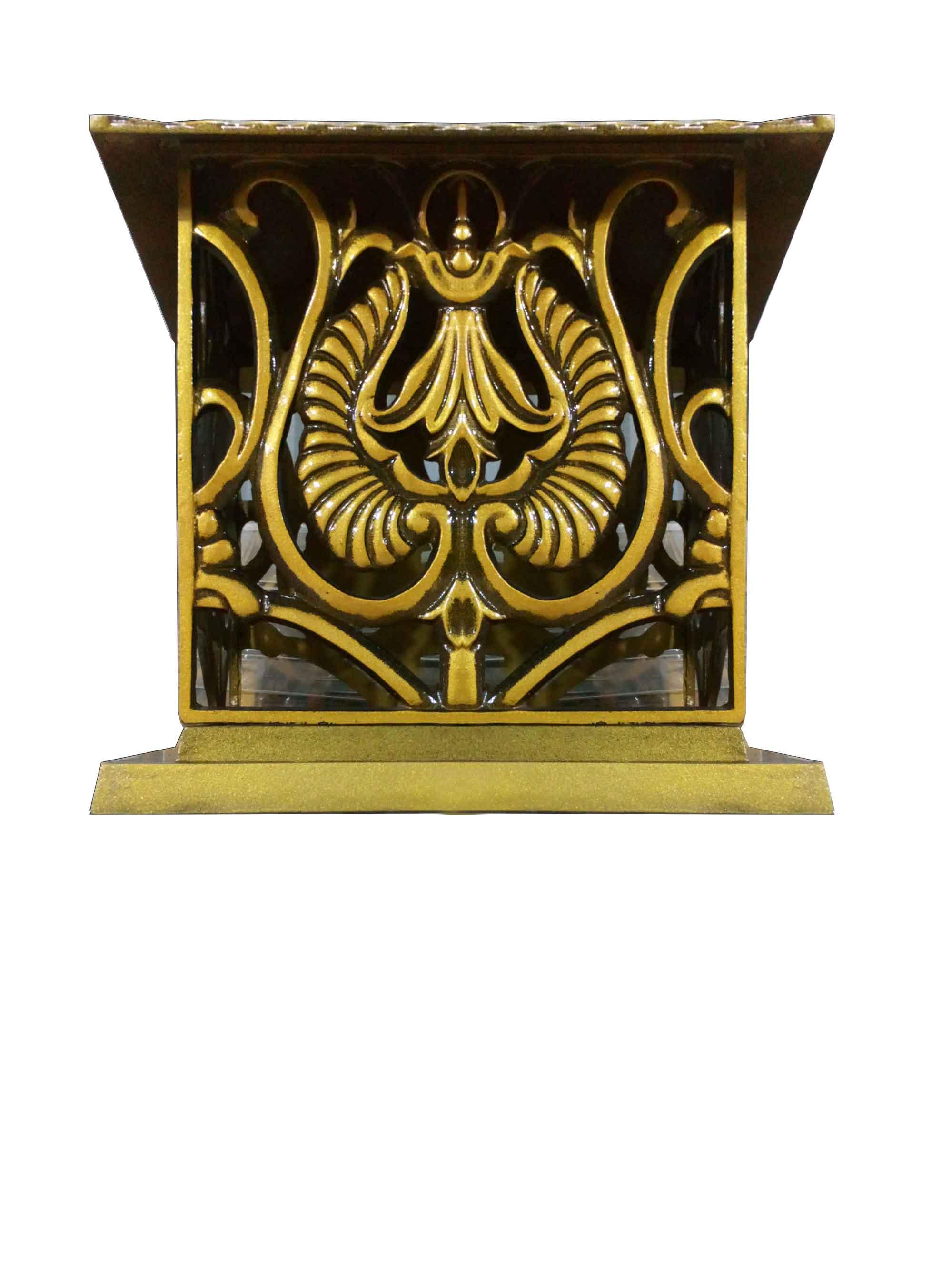 đèn cột cổng vuông