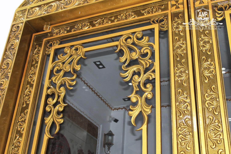 cửa nhôm đúc đẹp